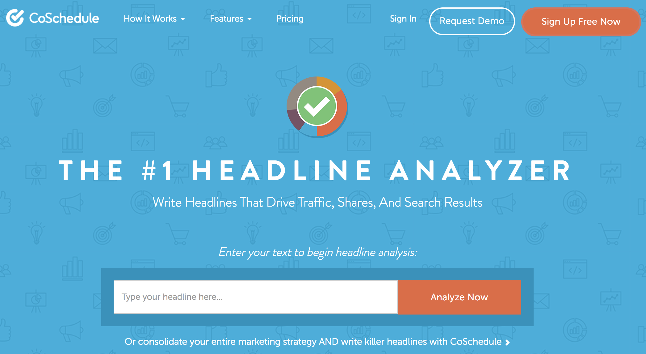 Headline Analyzer for Conversion Rate Optimization