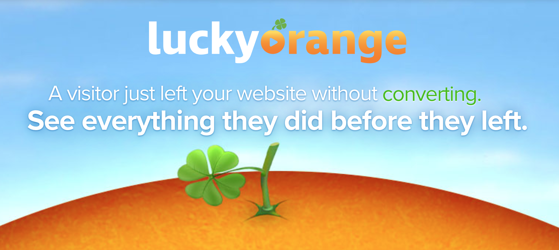 Lucky Orange for Conversion Rate Optimization